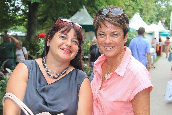 srpr, Sylvia Rabe und SWR Moderatorin Sonja Schrecklein