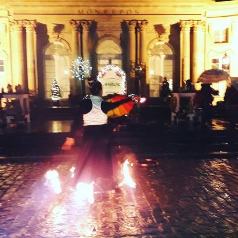 Feuershow, 7. Winterzauber, Domäne Monrepos